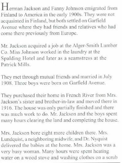 Jackson part one