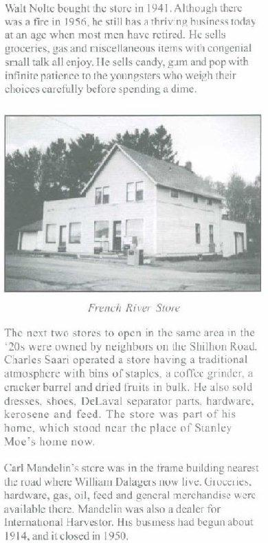 french river store