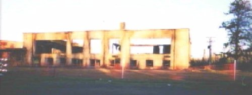 burned school