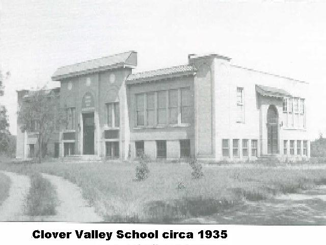 Clover Valley School, circa 1935